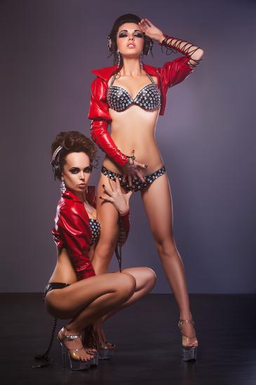 Sexy Gogo Tänzerinnen