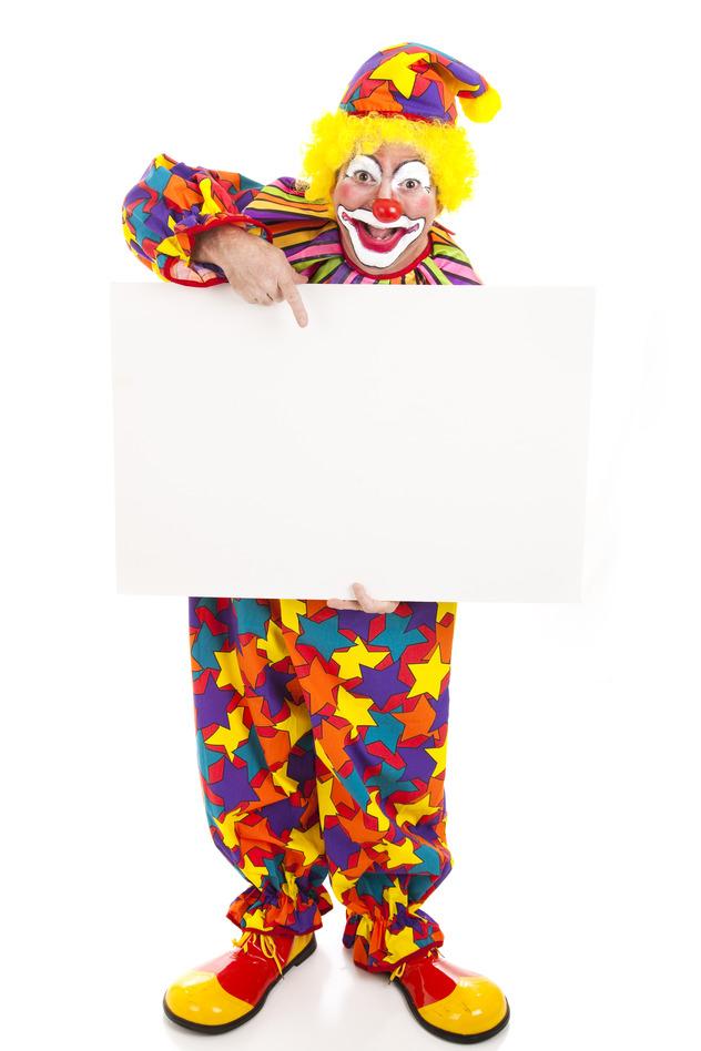 clowns buchen