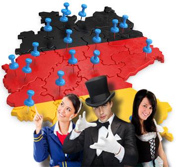 Deutschlandkarte Pinnadel